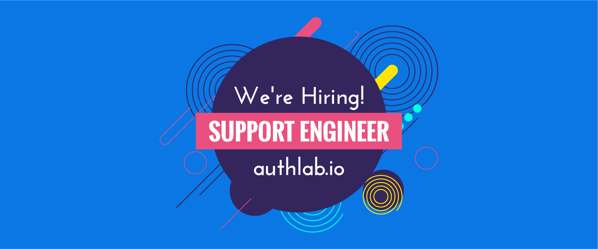 support engineer recruitment authlab